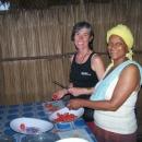 Préparation du dernier repas par les Yovos